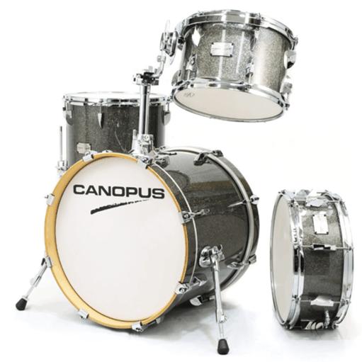 Canopus - Yaiba II Jazz kit Gray Sparkle