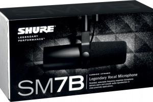 Shure - Micro broadcast - SM7B