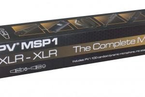 PV MSP1 MICROPHONE XLR/MIC STAND PKG