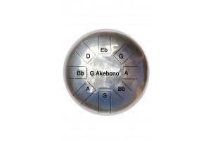Steel tongue drum 8 notes - Cosmic drum Sol Akebono