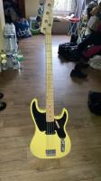 Electric bass guitar Tele