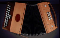Artisanal accordion - 21 buttons - 1 voice