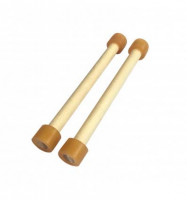 Dual wood sticks for Spacedrum