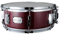 """Canopus - YAIBA II Birch - 14""""x 5,5"""" - Red Sparkle Lacquer"""