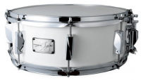 """Canopus - YAIBA II Snare Birch - 14""""x 5,5"""" - Mat White Lacquer"""