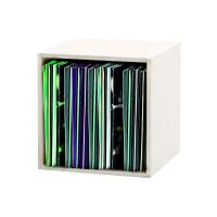 RECORD BOX 110 WHITE