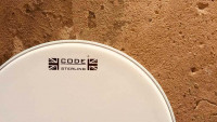 Code Drum Heads - STERLING COATED - Snare drum