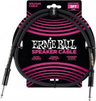 Ernie Ball - 3' Straight/straight Speaker Cable Black