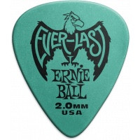 Ernie Ball - Everlast Frosted Blue Pick - 2mm