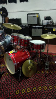 "Energy Series 10/12/16/22/5.5x14"" 5pc Kit with Zildjian Cymbals"