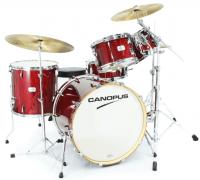 Canopus - Yaiba II Maple Rock kit Red Sparkle