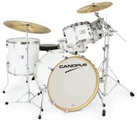 Canopus - Yaiba II Maple Rock kit White Lacquer